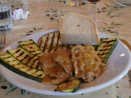saltimbocca (veal)